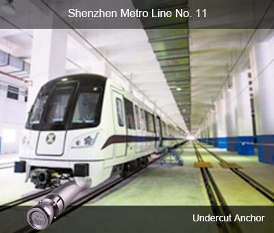 No. 11 Línea de Metro en Shenzhen